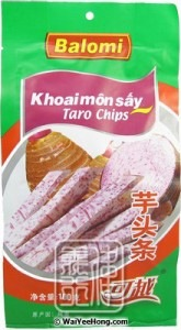 Taro Chips (Khoaimon Say)