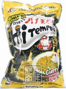 Tempura Seaweed (Curry Flavour)