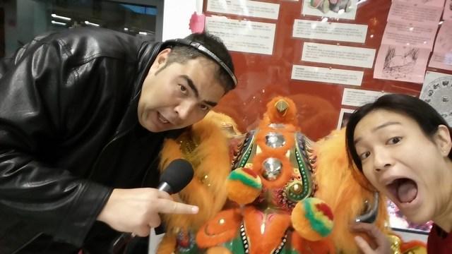 Selfie with Martin Evans, BBC Radio Bristol