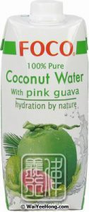 Foco Coconut Water with Pink Guava