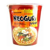 Neoguri Cup Noodle (Spicy Seafood)