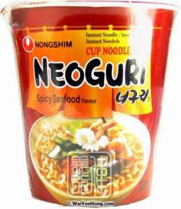 Nong Shim Neoguri Cup Noodle (Spicy Seafood)